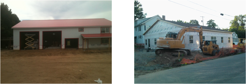 Framing projects jm quality construction llc for Modular garage with living quarters